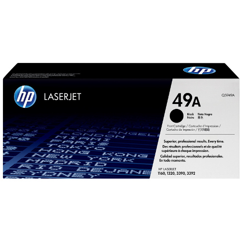 HP 49A Black (Q5949A) (Genuine) title=