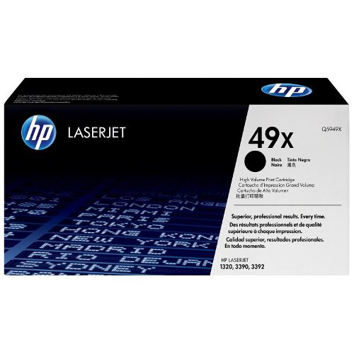 HP 49X Black High Yield (Q5949X) (Genuine) title=