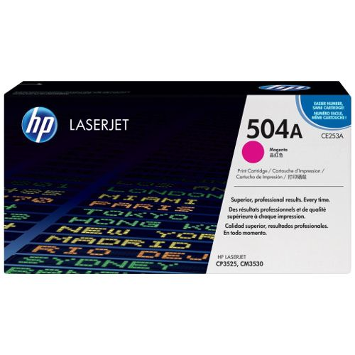 HP 504A Magenta (CE253A) (Genuine) title=