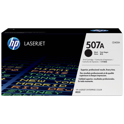 HP 507A Black (CE400A) (Genuine) title=