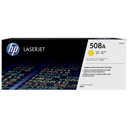 HP 508A Yellow (CF362A) (Genuine) title=