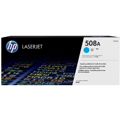 HP 508A Cyan (CF361A) (Genuine) title=