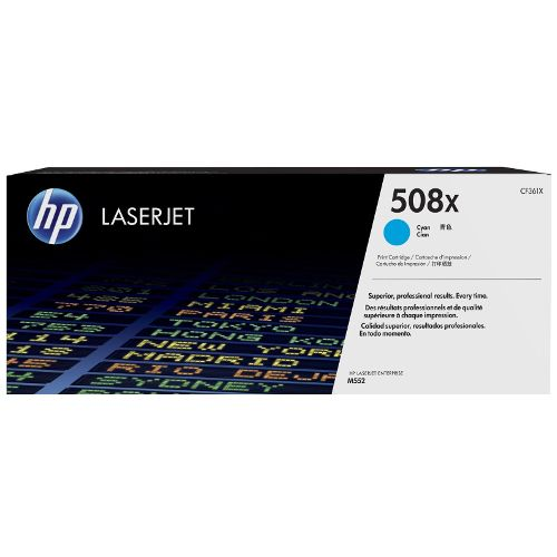 HP 508X Cyan High Yield (CF361X) (Genuine) title=