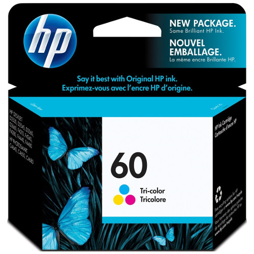 HP 60 Colour (CC643WA) (Genuine) title=