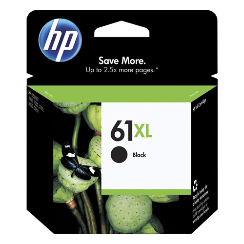HP 61XL Black High Yield (CH563WA) (Genuine) title=