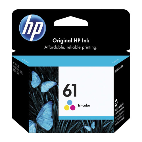 HP 61 Tri-Colour (CH562WA) (Genuine) title=