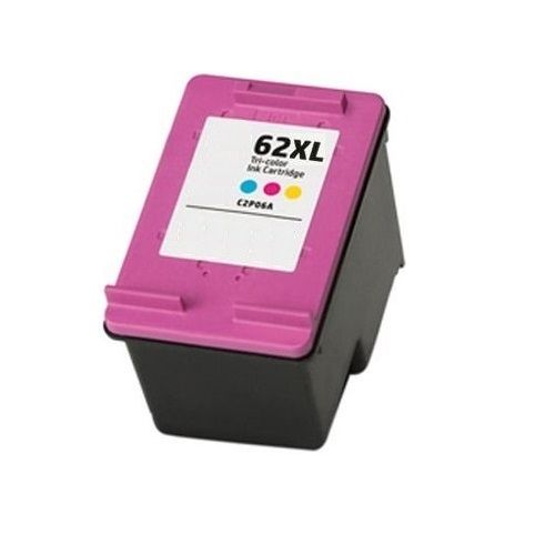 Remanufactured 62XL Tri-Colour High Yield Ink Cartridge (C2P07AA) title=