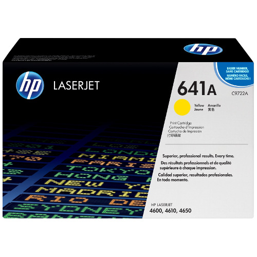 HP 641A Yellow (C9722A) (Genuine) title=