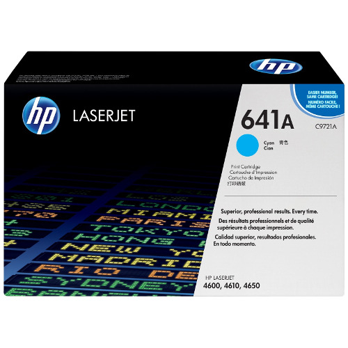 HP 641A Cyan (C9721A) (Genuine) title=