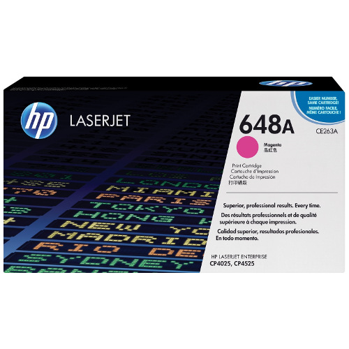 HP 648A Magenta (CE263A) (Genuine) title=