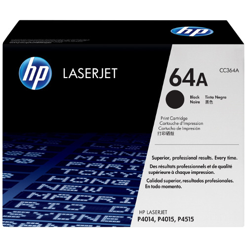 HP 64A Black (CC364A) (Genuine) title=