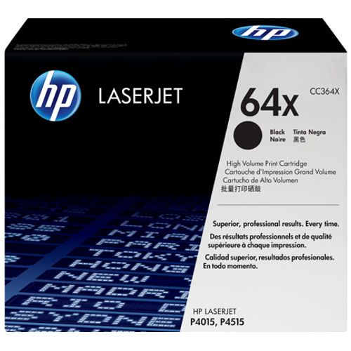 HP 64X Black High Yield (CC364X) (Genuine) title=