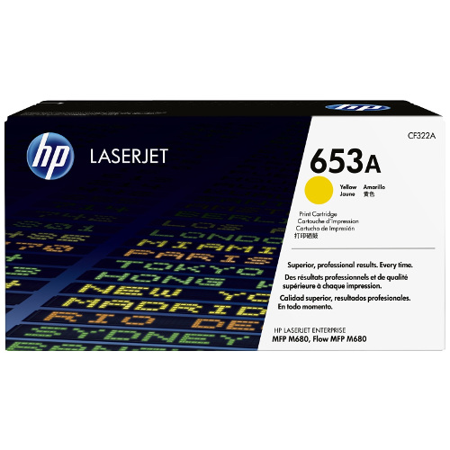 HP 653A Yellow (CF322A) (Genuine) title=