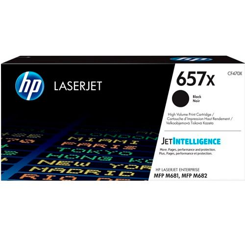 HP 657X Black High Yield (CF470X) (Genuine) title=