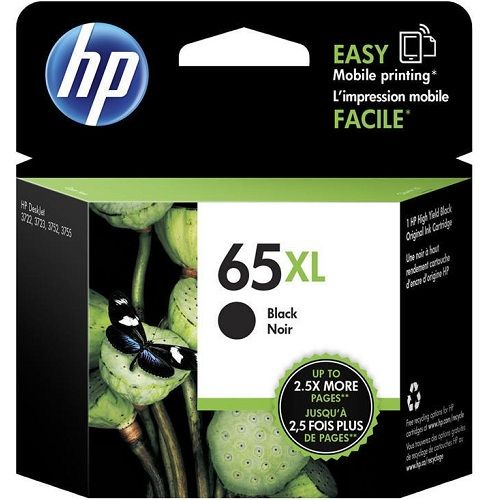 HP 65XL Black High Yield (N9K04AA) (Genuine)