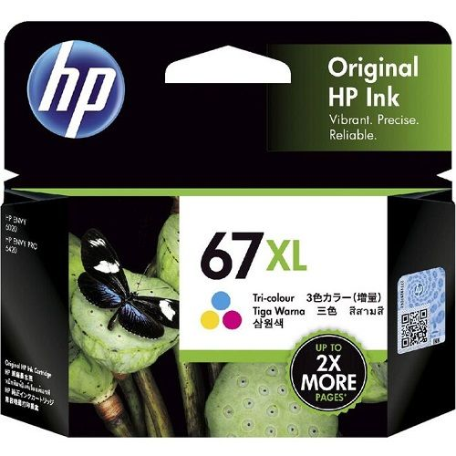 HP 67XL Colour High Yield (3YM58AA) (Genuine)