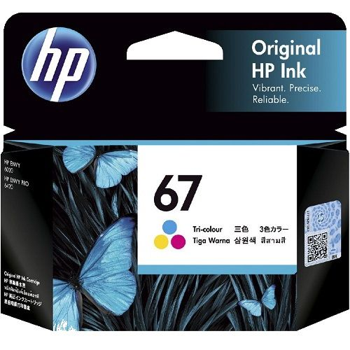 HP 67 Colour (3YM55AA) (Genuine)
