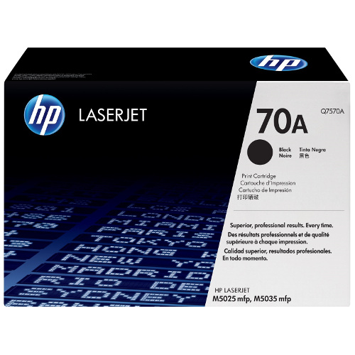 HP 70A Black (Q7570A) (Genuine) title=