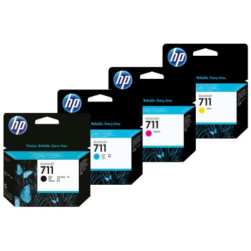 HP 711 (CF283X) 4 Pack Bundle (Genuine) title=