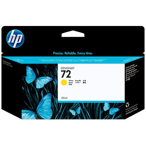 HP 72 Yellow (C9373A) (Genuine) title=
