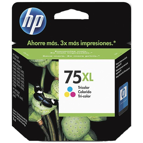 HP 75XL Colour High Yield (CB338WA) (Genuine) title=