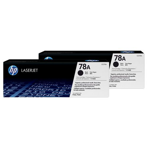 HP 78A 2 Pack Value Pack (CE278AD) (Genuine) title=