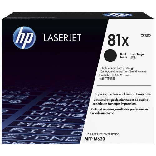 HP 81X Black High Yield (CF281X) (Genuine) title=