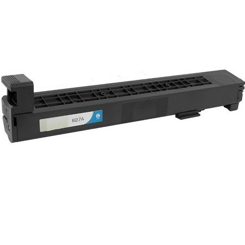 Remanufactured 827A Cyan Toner Cartridge (CF301A) title=