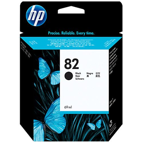 HP 82 Black (CH565A) (Genuine) title=