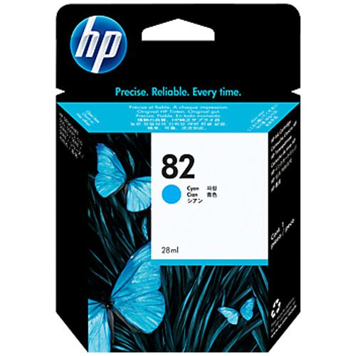 HP 82 Cyan (C4911A) (Genuine) title=