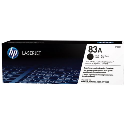 HP 83A Black (CF283A) (Genuine) title=