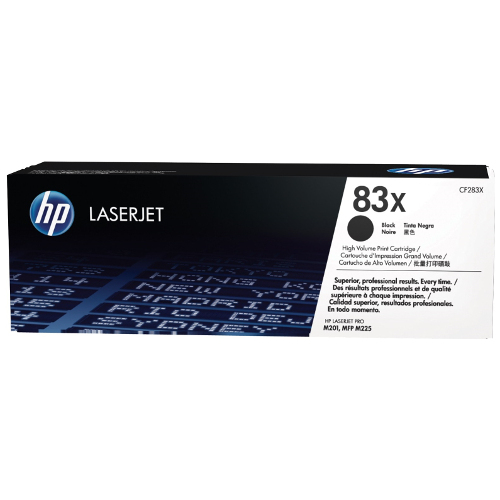HP 83X Black High Yield (CF283X) (Genuine) title=