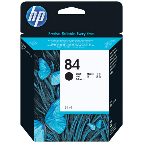 HP 84 Black (C5016A) (Genuine) title=