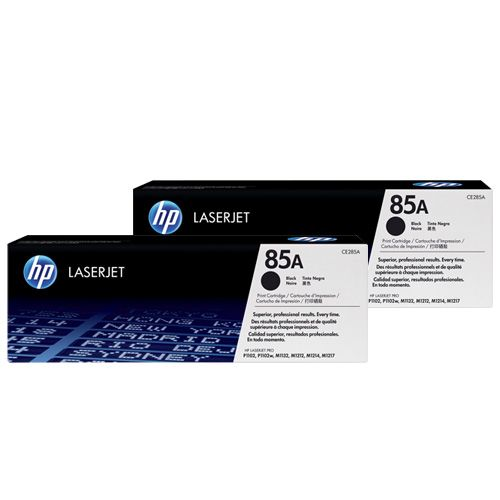 HP 85A 2 Pack Value Pack (CE285AD) (Genuine) title=