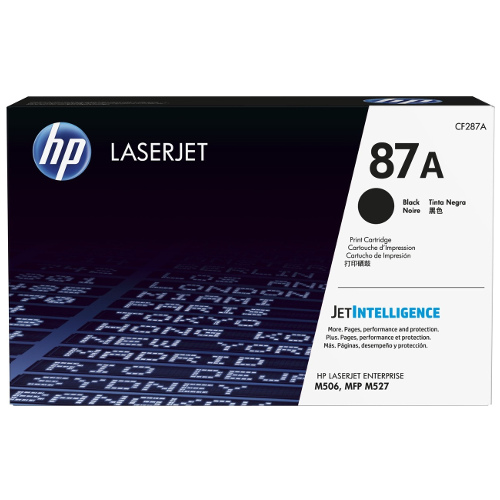 HP 87A Black (CF287A) (Genuine) title=