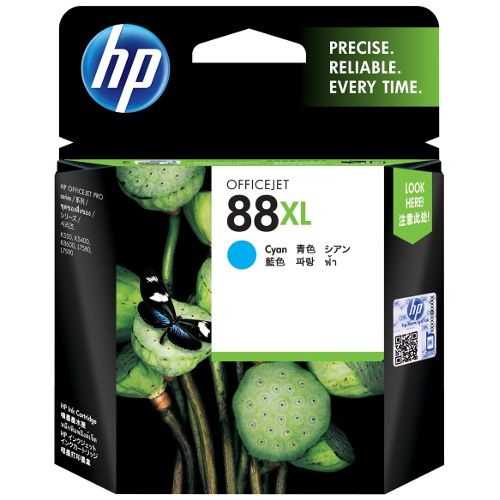 HP 88XL Cyan High Yield (C9391A) (Genuine) title=