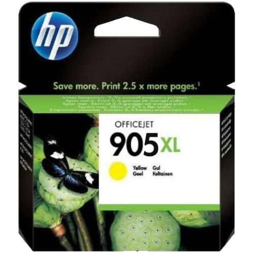 HP 905XL Yellow High Yield (T6M13AA) (Genuine) title=