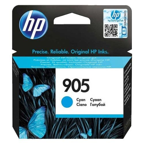 HP 905 Cyan (T6L89AA) (Genuine) title=