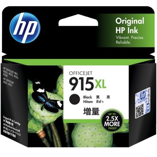 HP 915XL Black High Yield (3YM22AA) (Genuine)
