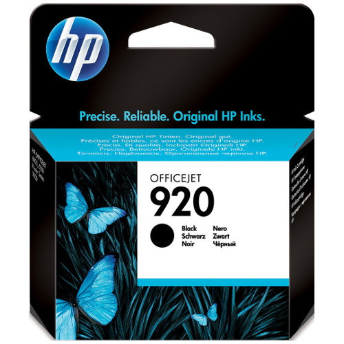 HP 920 Black (CD971AA) (Genuine) title=
