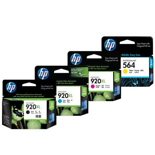 HP 920XL 8 Pack Bundle (CD972AA-CD975AA) (Genuine) title=