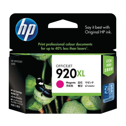 HP 920XL Magenta High Yield (CD973AA) (Genuine) title=