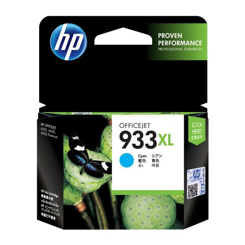 HP 933XL Cyan High Yield (CN054AA) (Genuine) title=