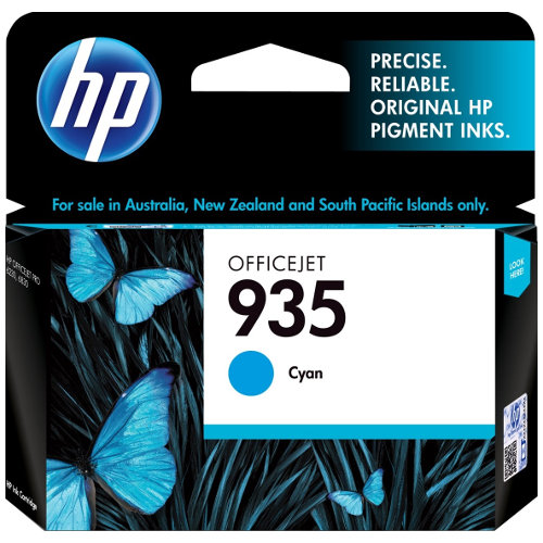HP 935 Cyan (C2P20AA) (Genuine) title=