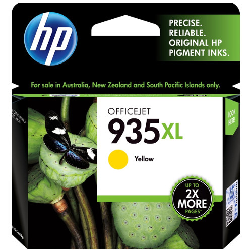 HP 935XL Yellow High Yield (C2P26AA) (Genuine) title=