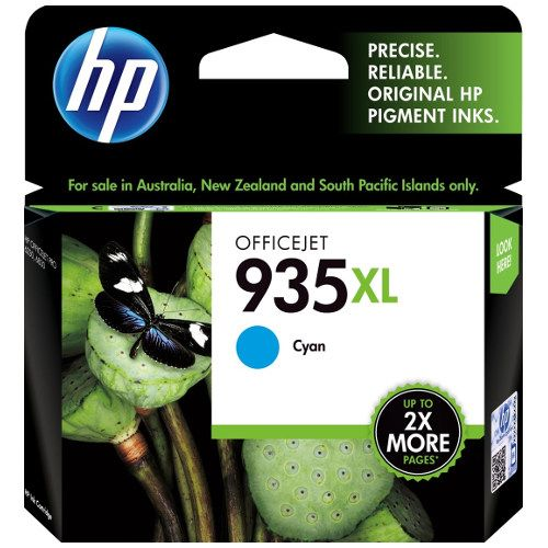 HP 935XL Cyan High Yield (C2P24AA) (Genuine) title=