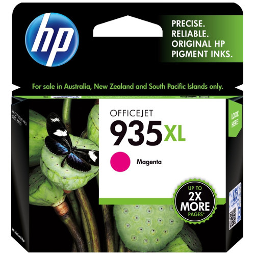 HP 935XL Magenta High Yield (C2P25AA) (Genuine) title=