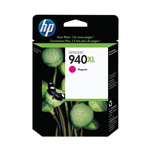 HP 940XL Magenta High Yield (C4908AA) (Genuine) title=