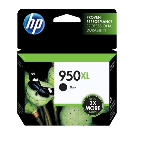 HP 950XL Black High Yield (CN045AA) (Genuine) title=