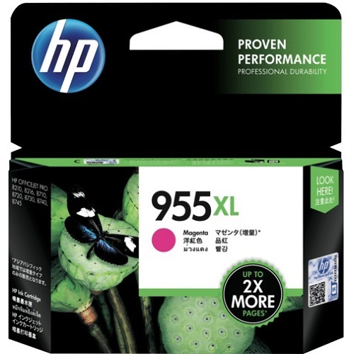 HP 955XL Magenta High Yield (L0S66AA) (Genuine) title=